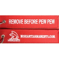 Remove Before Pew Pew Rifle Flag