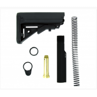 AR-15 MIL-SPEC 6 POS. PREMIUM STOCK W/BUFFER TUBE ASSEMBLY