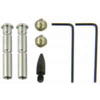 AR-15 ANTI-WALK PIN SET/STAINLESS STEEL