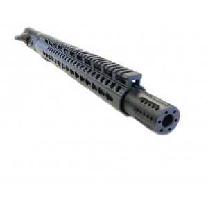 "AR-15 5.56/.223 16"" M4 KEYMOD UPPER ASSEMBLY WITH SLIP OVER BARREL SHROUD"