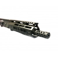 "AR-15 7.62x39 7.5"" stainless steel upper assembly, Left Hand"