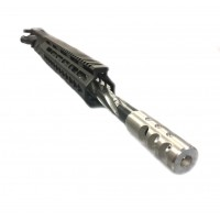 "AR-15 7.62x39 16"" STAINLESS BLACK CLAW PREMIUM KEYMOD UPPER ASSEMBLY, LEFT HAND"