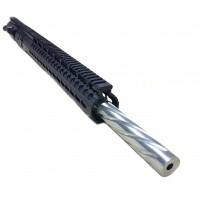"AR-10 .308 20"" stainless steel bull spiral fluted tactical upper assembly"