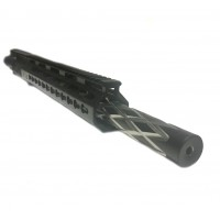 "AR-15 300 Blackout 16"" black diamond modular bull upper assembly"