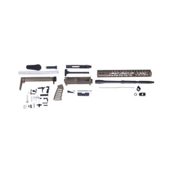"AR-15 5.56 16"" COMPLETE AIRLIGHT SERIES RIFLE KIT LEFT HAND - VARIOUS COLORS"