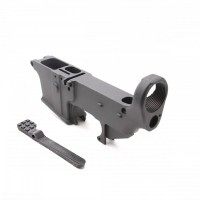 AR-9 9MM 80% Anodized Lower Receiver Anodized Black - Glock Style Mag