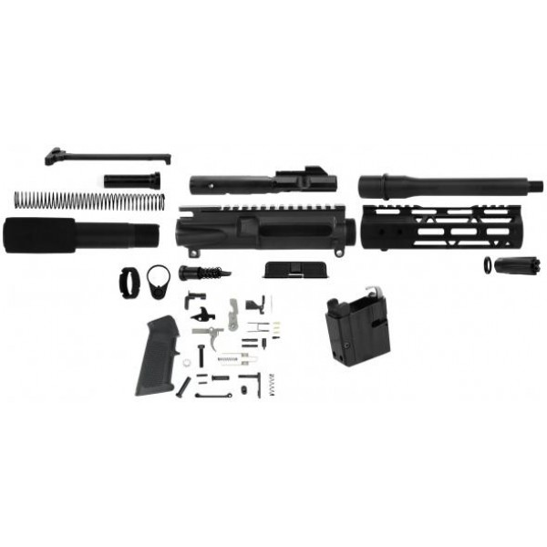 "AR-9 9MM 7.5"" Pistol Kit w/ Magwell Adapter for Colt Mags"