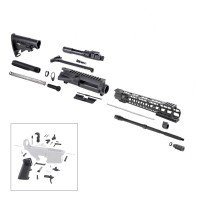 "AR-15 5.56/.223 16"" M4 Tactical Rifle Kit with 15"" Keymod Super Slim Handguard"