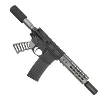 "AR-15 5.56/.223 7.5"" COMPLETE ULTRALIGHT SERIES PISTOL KIT -  TUNGSTEN"