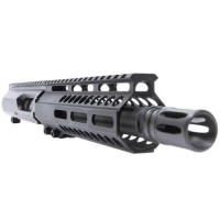 "AR-40 10.5"" Slick Side LRBHO Complete Upper Assembly with BCG and CH - .40 S&W"