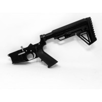 AR-15 MA15 COMPLETE LOWER STAINLESS STEEL ALPHA EDITION - BLACK