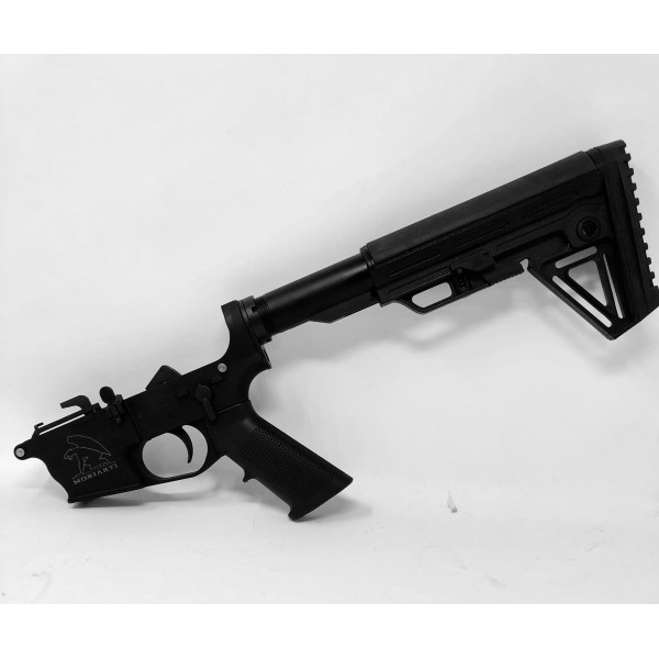 AR-9 9MM GLOCK STYLE COMPLETE LOWER WITH ALPHA STOCK - LRBHO