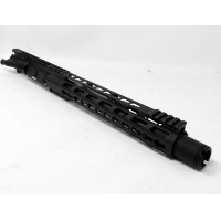 "AR-15 .450 Bushmaster 12"" Pistol Upper Assembly w/ Flash Can"
