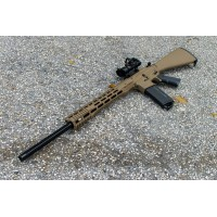 "AR-15 5.56 MORIARTI ARMAMENTS 24"" SUPER VARMINTER / FDE"
