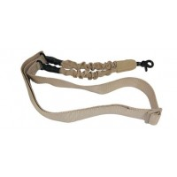 ONE POINT BUNGEE SLING WITH QD SNAP HOOK / DESERT TAN