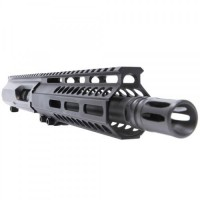"AR-45 10.5"" SLICK SIDE LRBHO COMPLETE UPPER ASSEMBLY WITH BCG AND CH"