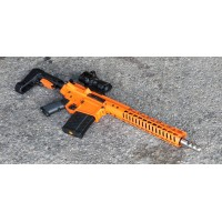 "MA-10 .308 WIN MORIARTI ARMAMENTS 12.5"" PISTOL / ORANGE / SBA3"