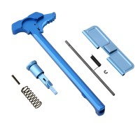 AR-15 Upper Kit Set/Charging Handle, Forward Assist/Ejection Door/Blue
