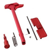 AR-15 Upper Kit Set/Charging Handle, Forward Assist/Ejection Door/Red