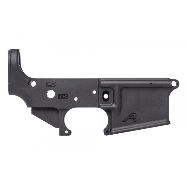 AR-15 5.56 CAL Aero Stripped Lower Receiver, Gen 2 - Anodized Black