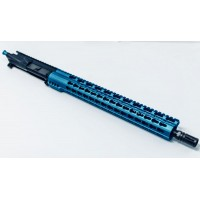 "AR-15 350 Legend 16"" Keymod Upper Assembly / 15"" Blue Free Float"