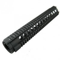 "AR-15 12"" QUADRAIL FLOAT HANDGUARD ROUND PORT"