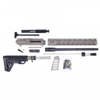 "AR-10 .308 16"" Tactical Alpha Carbine Kit w/15"" Mlok Rail FDE - DPMS"
