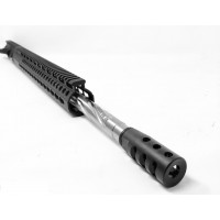 "AR-15 5.56/.223 20"" stainless steel spiral fluted tactical upper assembly"