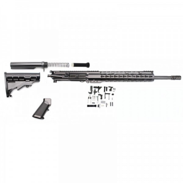 "AR-15 7.62x39 14.5"" complete build kit w/10"" slim keymod rail"