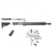 "AR-15 7.62x39 16"" complete rifle kit w/15"" slim M-Lok"