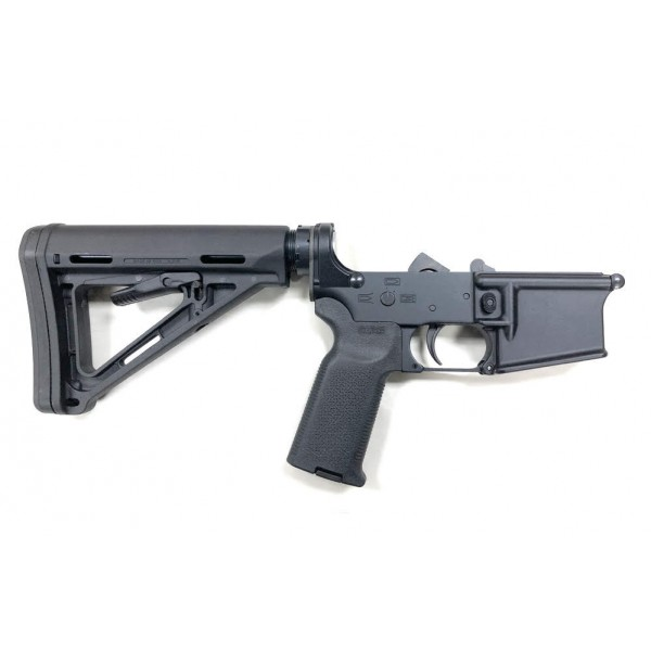 AR-15 MA15 COMPLETE LOWER MAGPUL MOE EDITION - BLACK, NO MAGAZINE