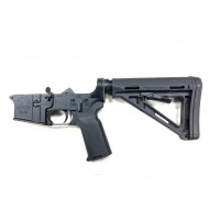 AR-15 MA COMPLETE LOWER MAGPUL MOE EDITION - BLACK, NO MAGAZINE