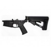 Aero Precision M5 (.308) Enhanced Complete Lower Receiver w/ Magpul MOE & STR - Anodized Black