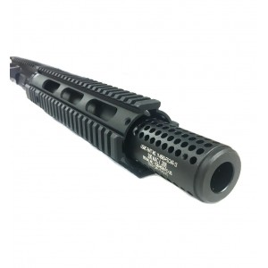 "AR-15 300 AAC BLK 10.5"" Nitro-Met Quad Upper Assembly with Socom Style Brake"