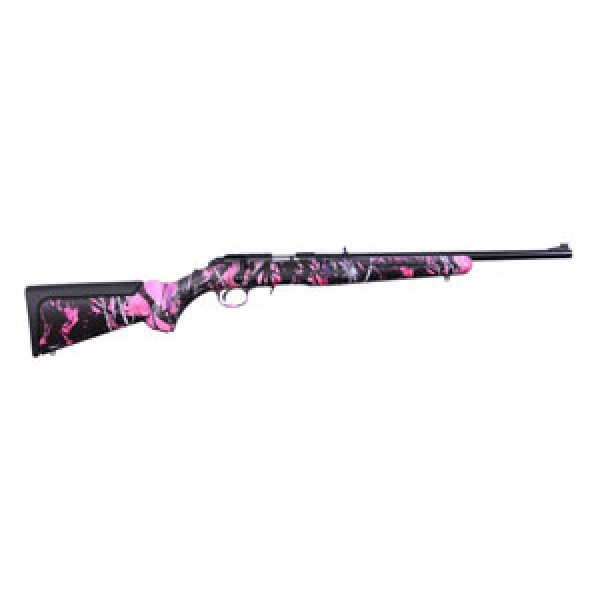 Ruger American Rimfire Rifle Compact Muddy Girl