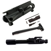 AR-15 5.56/.223 Upper Receiver Build Kit with Black Nitride BCG