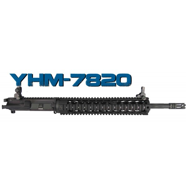 "AR-15 7.62x39 16"" Yankee Hill Diamond Fluted Upper Assembly"