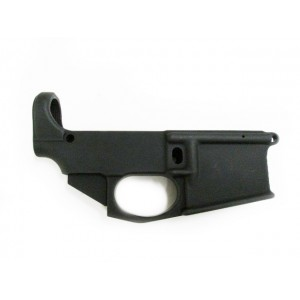 80% AR-15 billet lower receiver with trigger guard