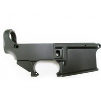 AR-15 80% lower receiver, anodized
