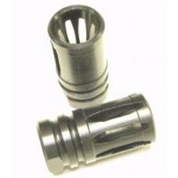 AR-15 A2 stainless steel flash suppressor 1/2-28 threads