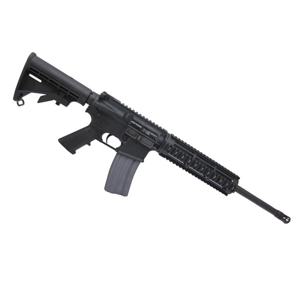 "AR-15 6.8 SPCII 16"" M4 quadrail tactical complete rifle kit"