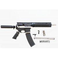 "AR-15 7.62x39 7.5"" stainless steel quad tactical pistol kit"