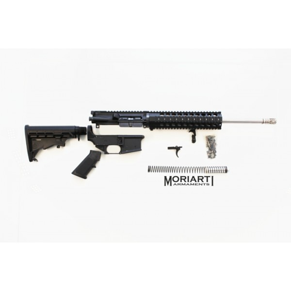 "AR-15 7.62x39 16"" stainless steel tactical complete rifle kit"
