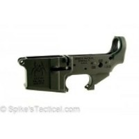 AR-15 SPIKES TACTICAL STRIPPED SPIDER LOWER RECEIVER